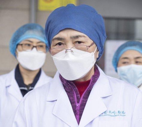 Professor Li Lanjuan is a leading Chinese epidemiologist. Photo: Xinhua