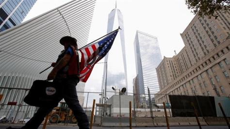 The 9/11 attacks led to the deaths of nearly 3,000 people [File: Andrew Kelly/Reuters]