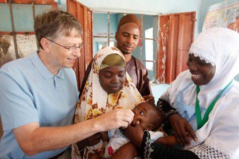Bill Gates Half A Million Children Paralyzed Vaccines