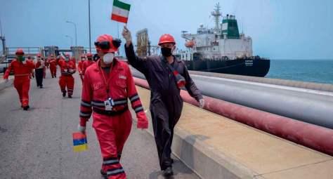 Ayatollah Khamenei praises crew of Iranian tankers taking gasoline to Venezuela
