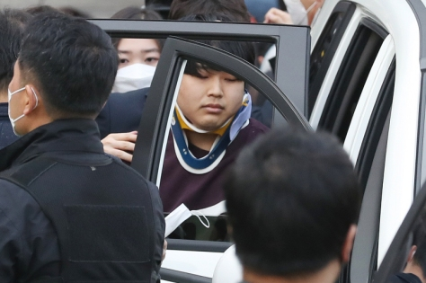 Cho Ju-bin, who was arrested in March over the Nth Room 'sextortion' ring has been jailed for 40 years [File: Yonhap/Reuters]